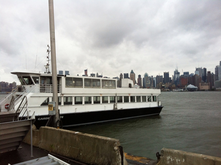 Monitoring the Big Apple: gplink on New York Waterway Ferry