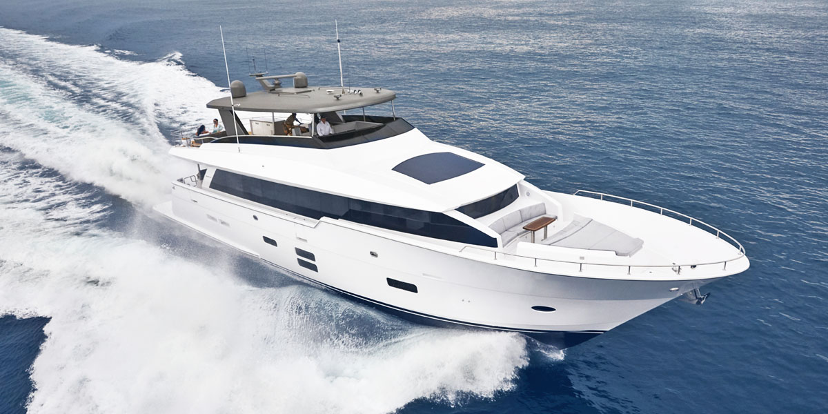 The All-New M90 Panacera from Hatteras Yachts: A Technological Wonder